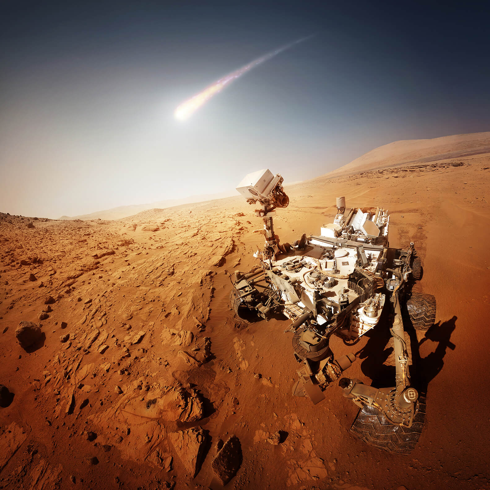 what makes the mars rover and explorer - photo #13